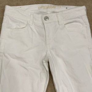 American Eagle Outfitters Jeans - White American Eagle Jeggings Jeans stretch pants